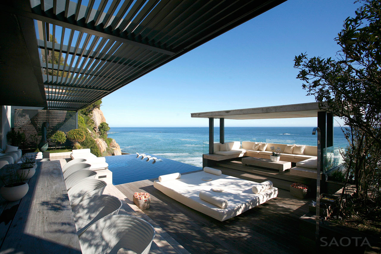 Contemporary Seaside Villa Cape Town Idesignarch