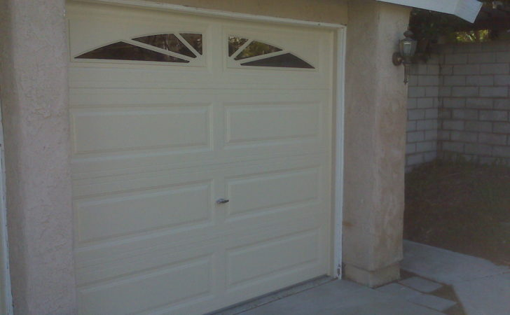 Contemporary Single Car Garage Doors Design
