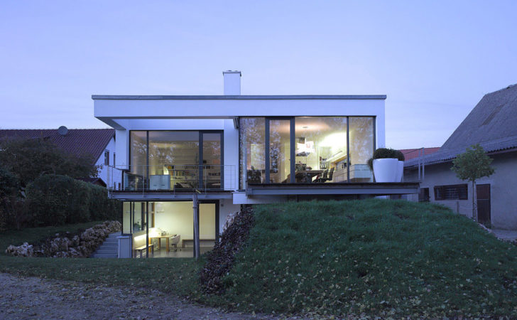 Contemporary Split Level Home Aalen Germany