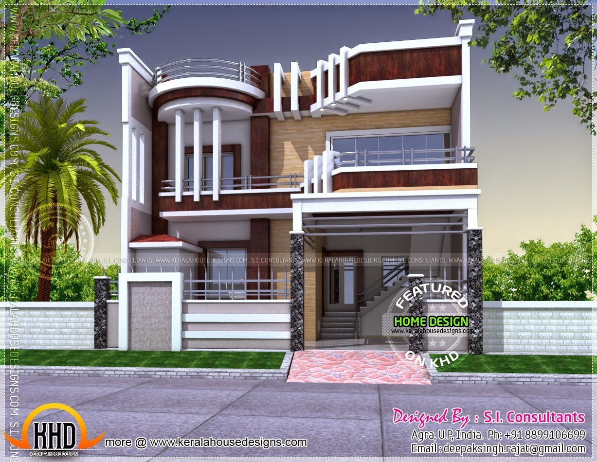 Contemporary Unique House Plan Kerala Home