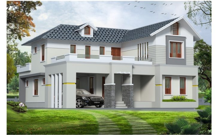 Contemporary Western Style House Plans Design