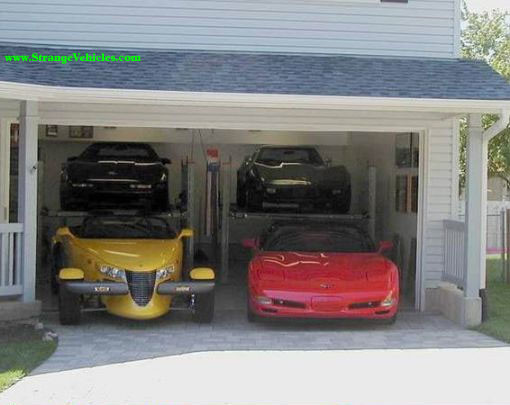 Cool Cars Two Car Garage
