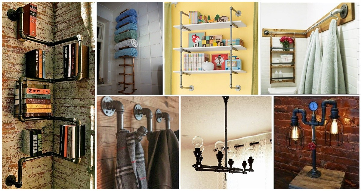 Cool Diy Metal Pipe Projects Your Home