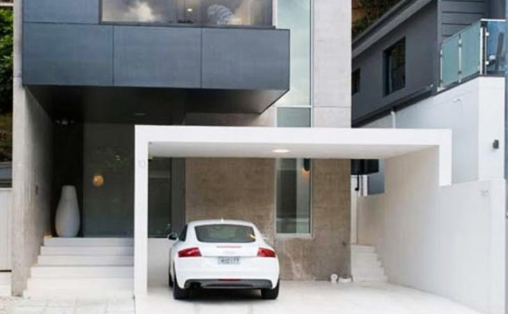 Cool Garage Ideas Car Parking Modern House Design
