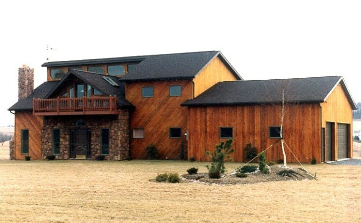Cool Natural Pole Barn House Design Homesfeed