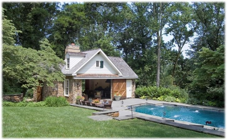 Cool Small Pool House Floor Plans Best Design