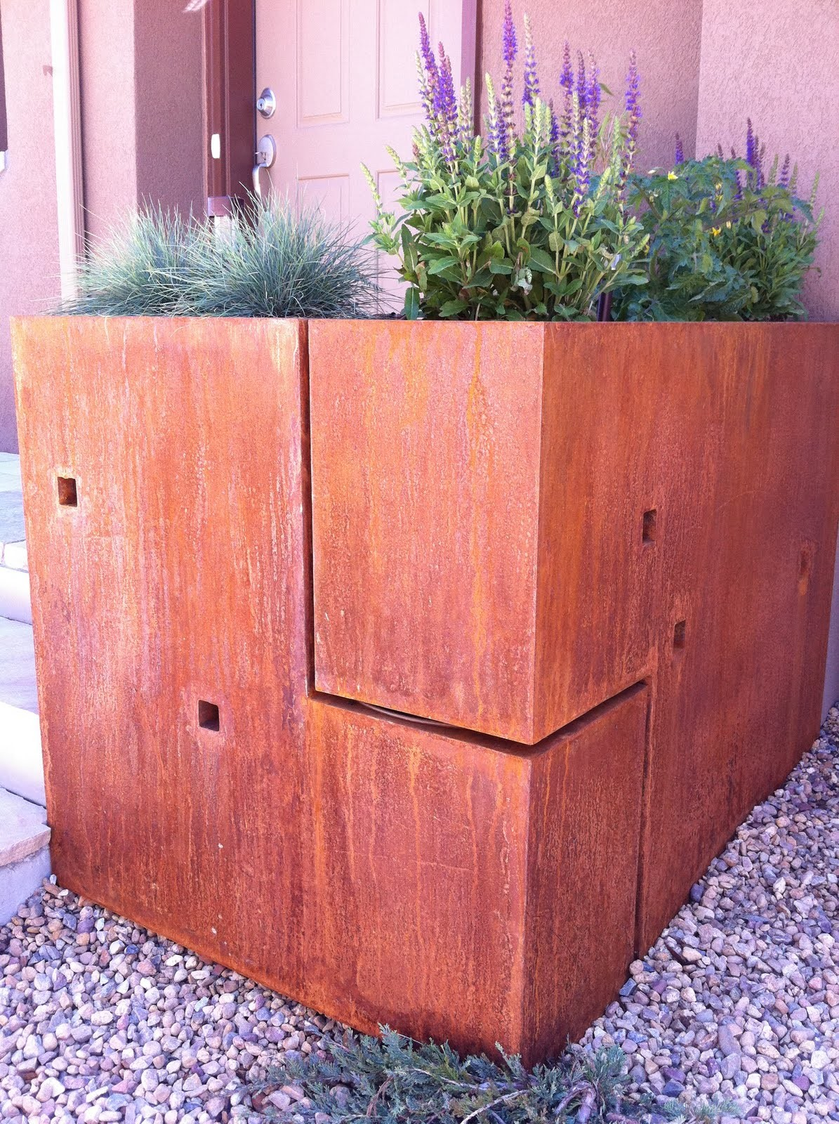 Cool Steel Planter Boxes Custom Modern