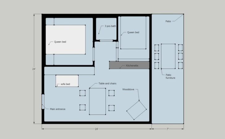 Cottage Floor Plan Resort Sale Ontario Canada