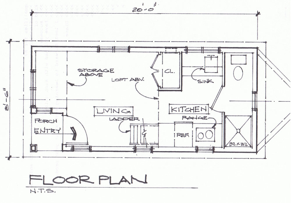 Cottage Floor Plans Pinterest Small