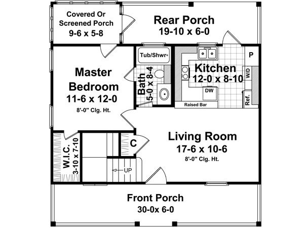 Cottage Plans Under Square Feet Woodworktips