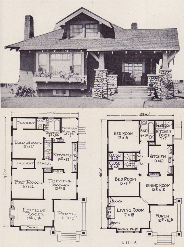 Cottage Style House Plans Walkout Basement