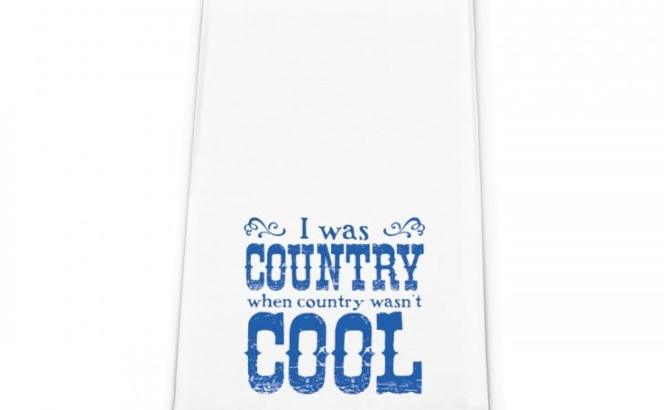 Country Cool Flour Sack Towels