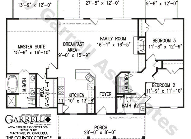 Country Cottage House Plan Active Adult Plans