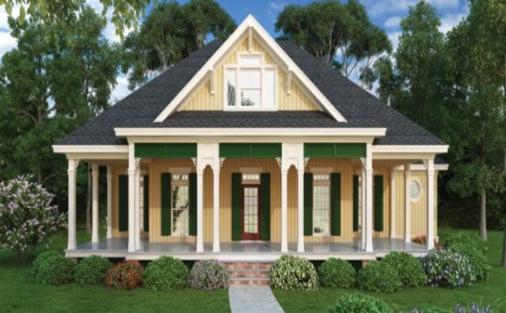 Country Cottage House Plans Porches