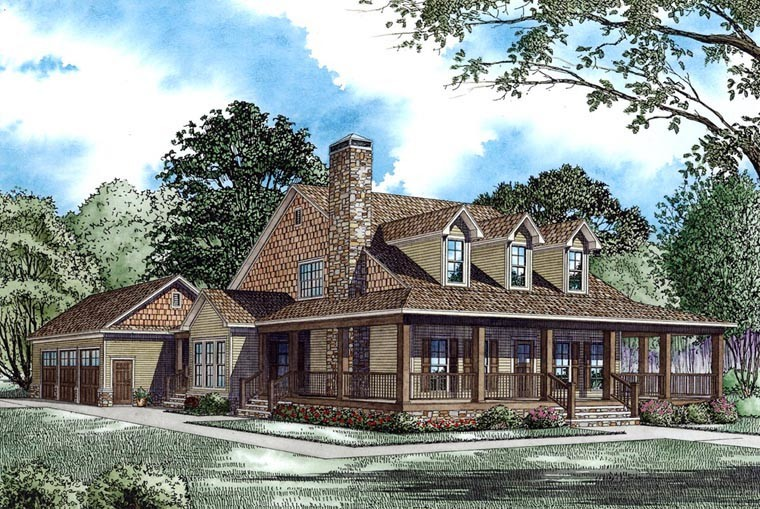 Country Farmhouse House Plan