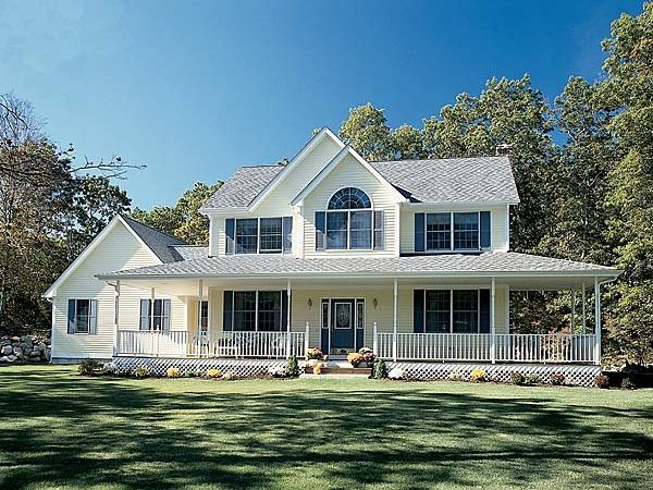 Country Farmhouse Southern House Plan