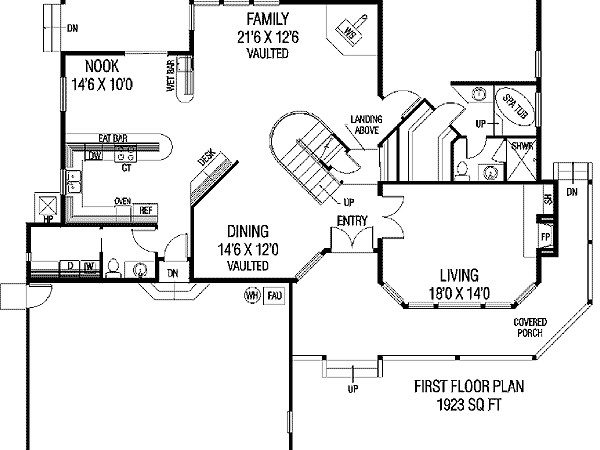 Country Home Plan Lots Glass Floor