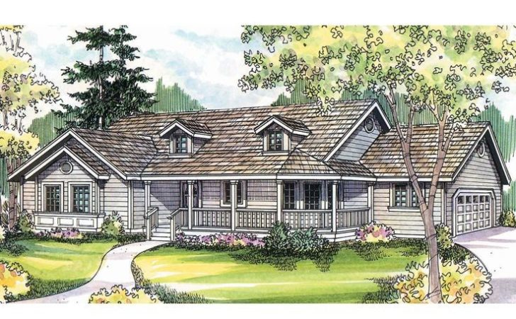 Country Home Plans Ranch House Plan