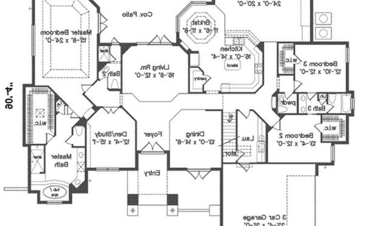 Country House Plans Open Floor Plan Homes