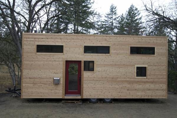 Couple Builds Amazing Mortgage Modern Tiny House