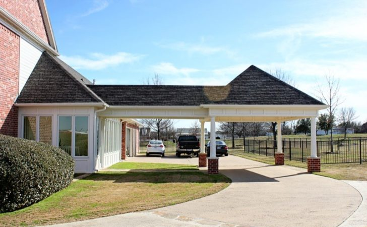 Covered Living Area Carport Extension Denton County