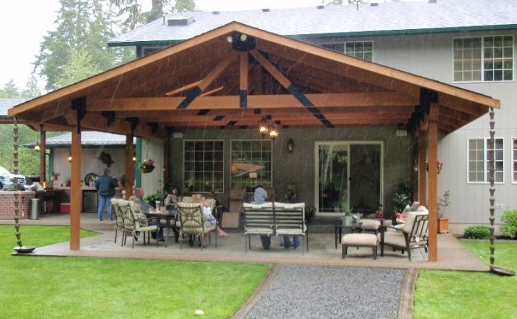 Covered Patio Building Plans Landscaping Gardening Ideas