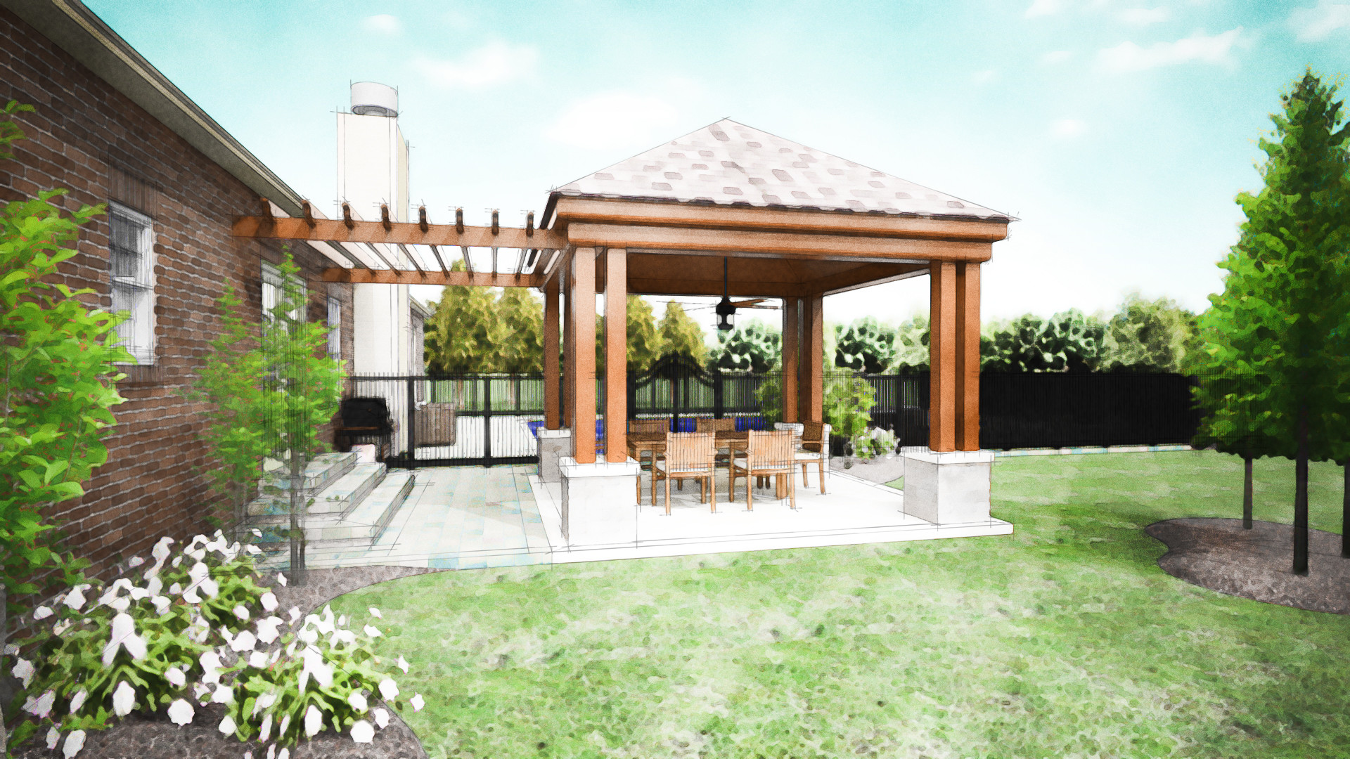 Covered Patio Company Dayton Cover Designs