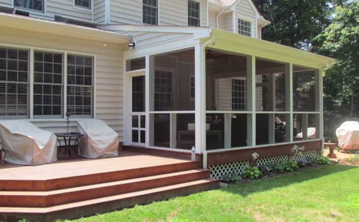 Covered Porch Midlothian Rva Remodeling Llc