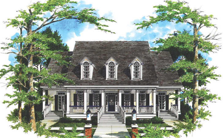 Coxburg Plantation Home Plan House Plans More
