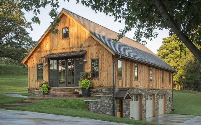 Cozy Barn Style Home Homes Life