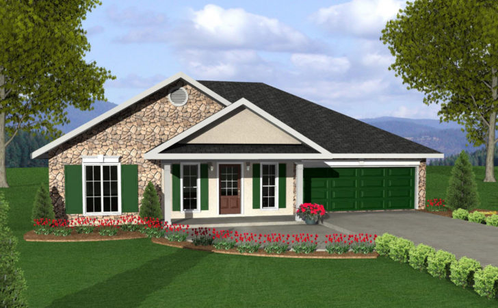 Cozy House Plan Two Versions Architectural