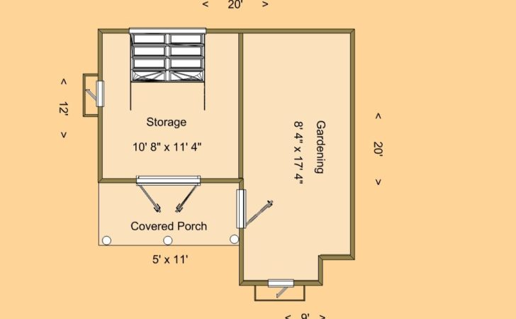 Cozy Shed Floor Plan Home Plans