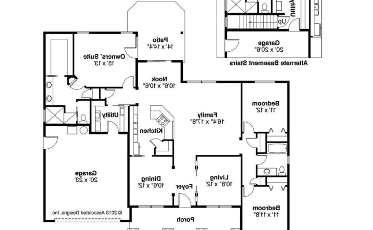 Craftsman House Plans Adrian Associated Designs