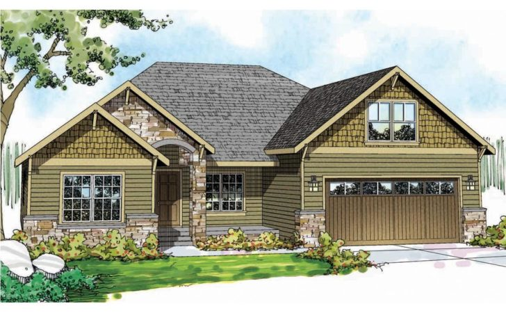 Craftsman House Plans Cascadia Associated Designs