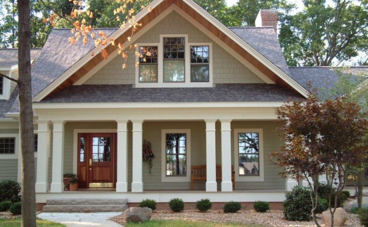 Craftsman House Plans Front Porch Beautiful Best