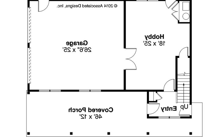 Craftsman House Plans Garage Apartment
