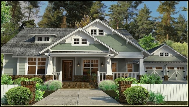 Craftsman House Plans Porch Furniture Idea