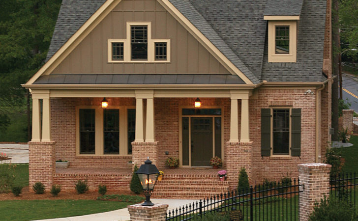 Craftsman Style Home Plans Porch Cottage House