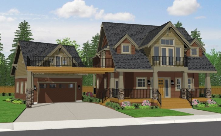 Craftsman Style Home Plans Porch