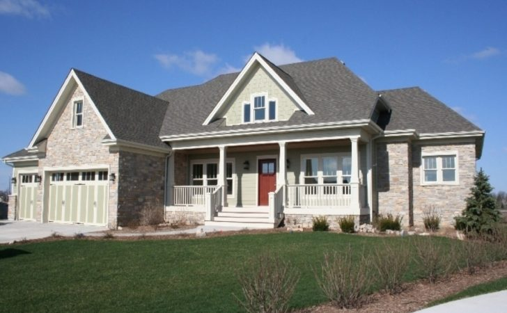 Craftsman Style Homes Ranch