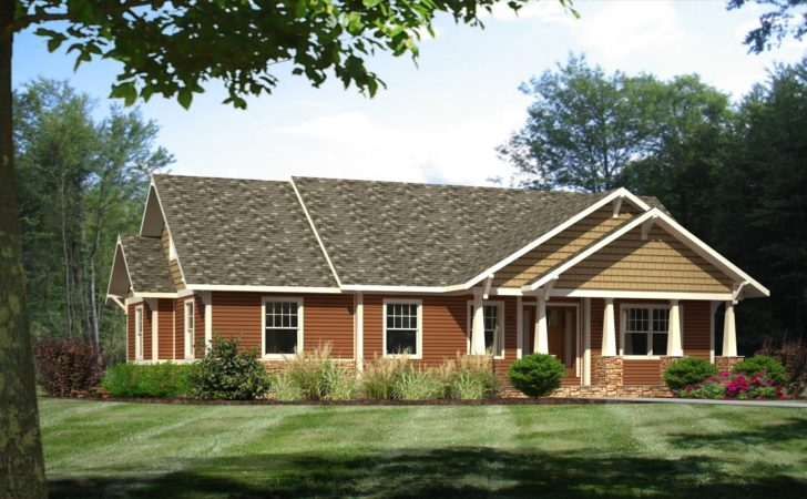 Craftsman Style House Plans Ranch Homes