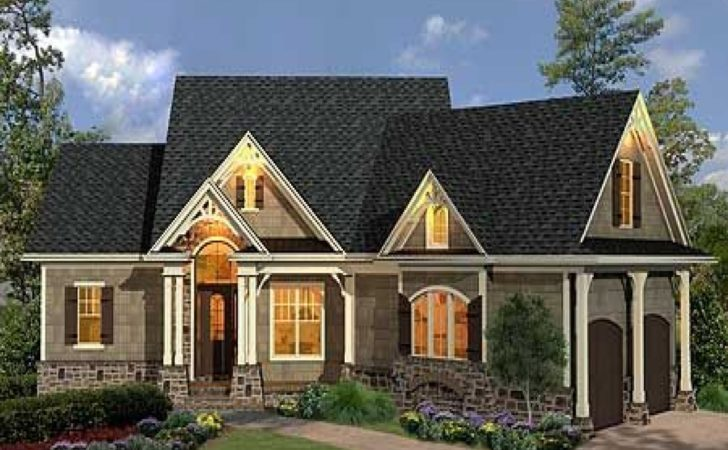 Craftsman Style Ranch House Plans Homes