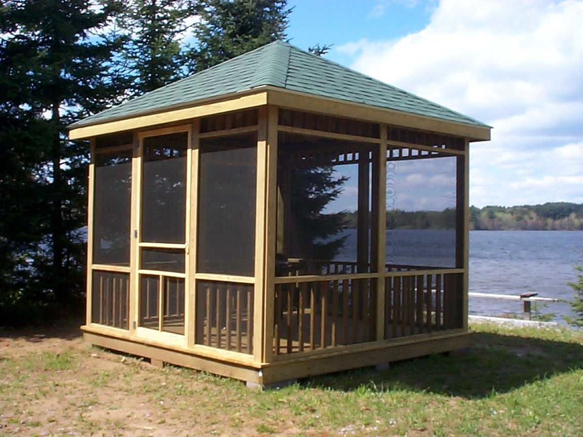 Create Comfortable Gazebo Home Garden