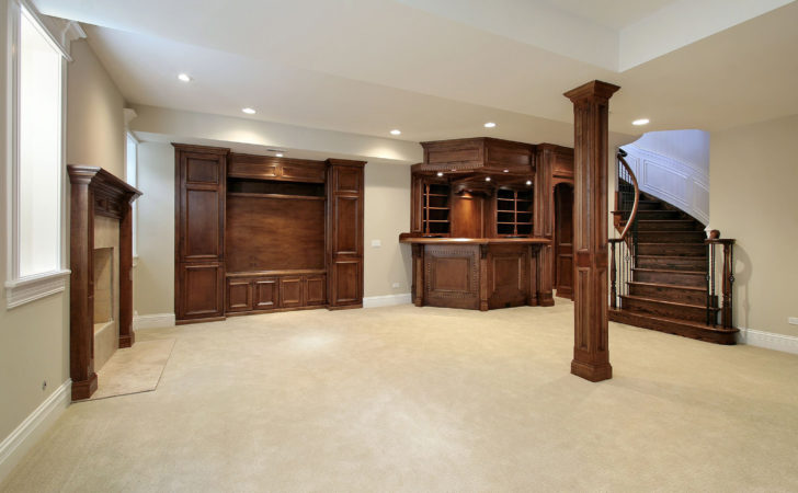 Create Finished Basement Floor Ceiling Waste