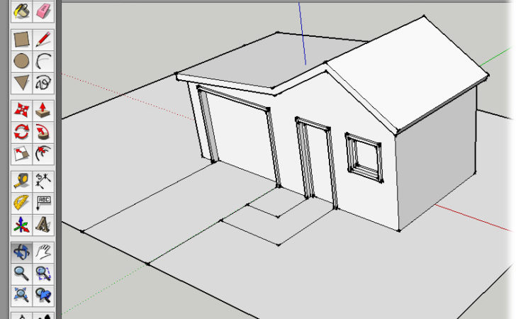 Creating House Plans Google Sketchup