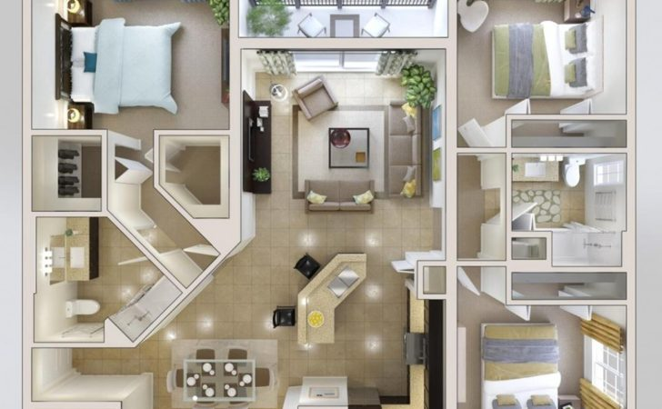 Creative Modern Bedroom House Plans Plan