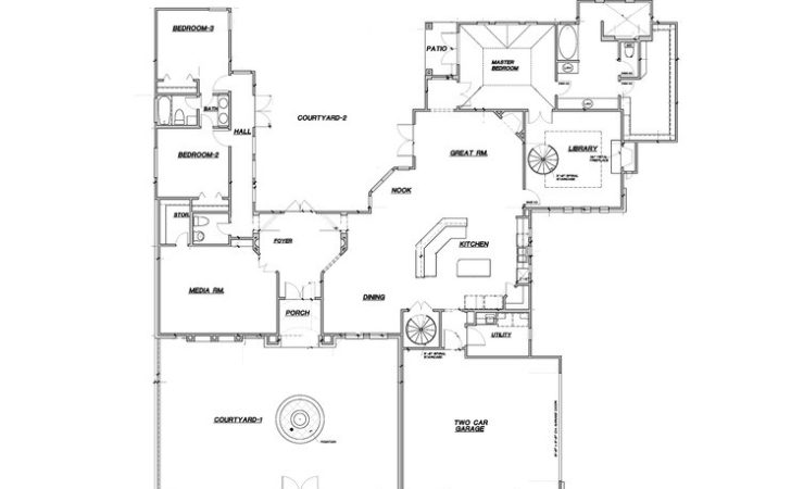 Custom Home Design Plan