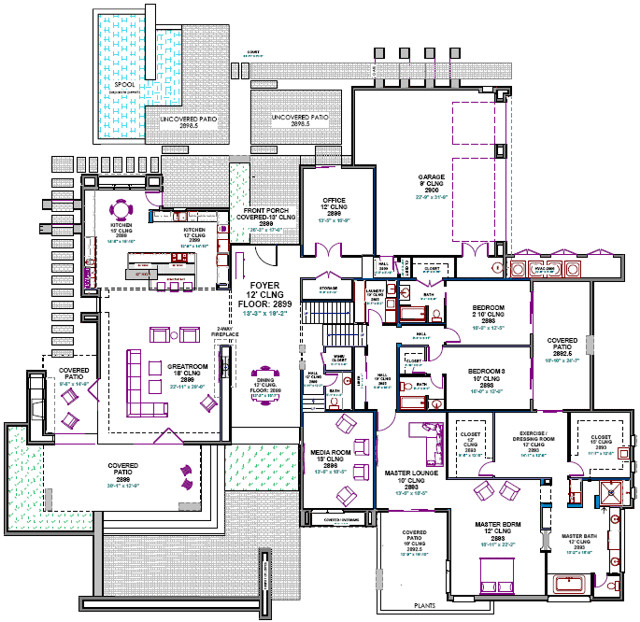 Custom Homes Plans Smalltowndjs
