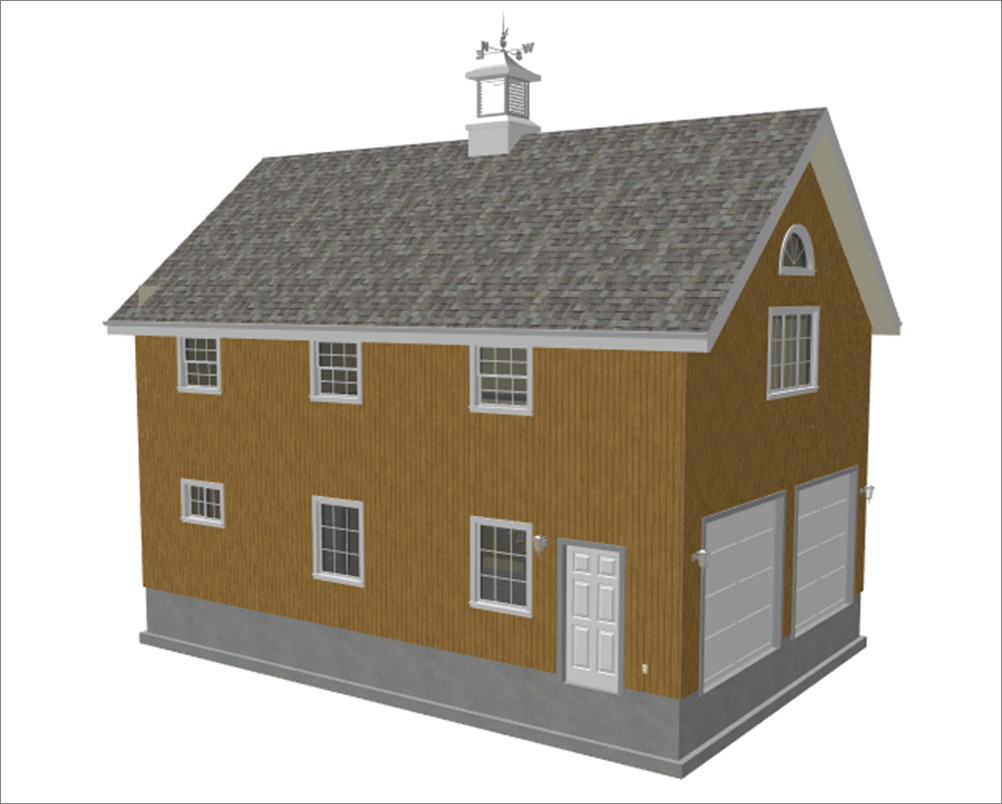 Custom Story Barn Plans Blueprints