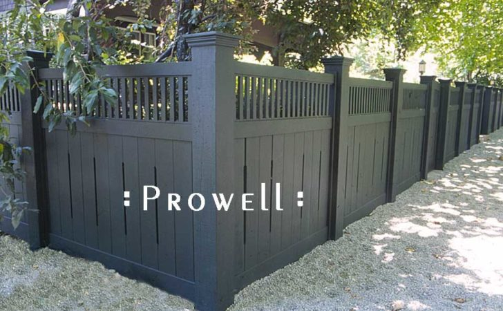 Custom Wooden Fence Panel Design Prowell Woodworks